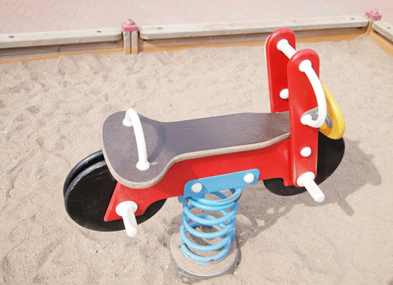 Playground Rider with Coil Springs