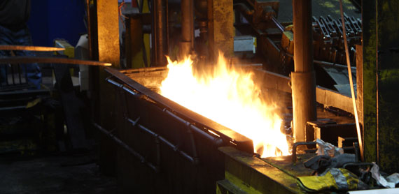 Heat Treating in action